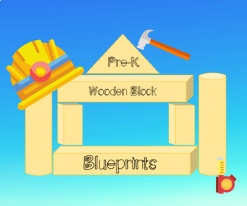 Blueprints teaching resources teachers pay teachers wooden block blueprints with step by step instructions malvernweather Image collections