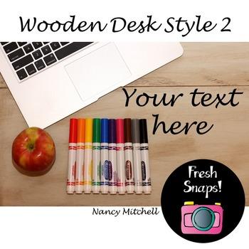 Wooden Desk Style 2