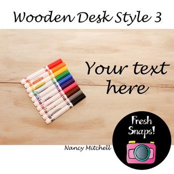 Wooden Desk Style 3