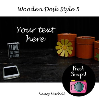 Wooden Desk Style 5