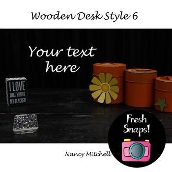 Wooden Desk Style 6
