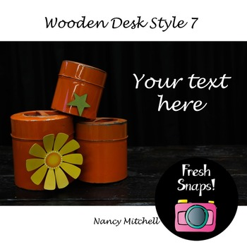 Wooden Desk Style 7