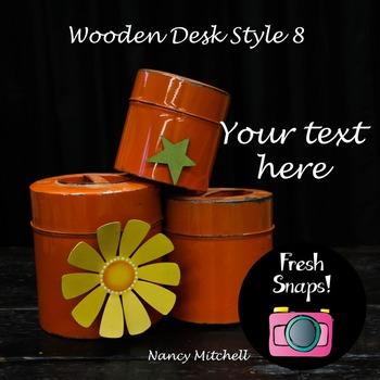 Wooden Desk Style 8