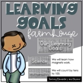 Wooden Farmhouse Theme Learning Goals