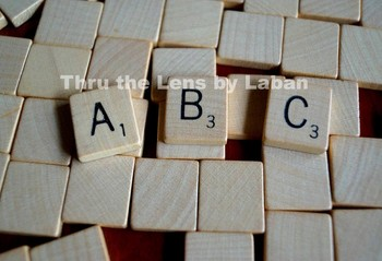 ABC Wooden Letters Stock Photo #179