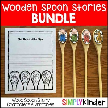 Wooden Spoon Puppets - GROWING BUNDLE