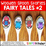 Wooden Spoon Stories 2 - Little Red Hen, Gingerbread Man, Jack and the Beanstalk