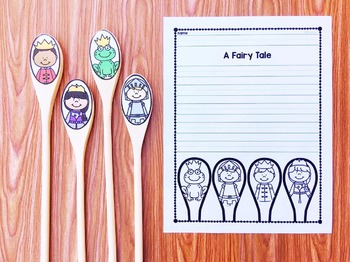 Wooden Spoon Stories - Fairy Tale #3 - Prince and Princesses