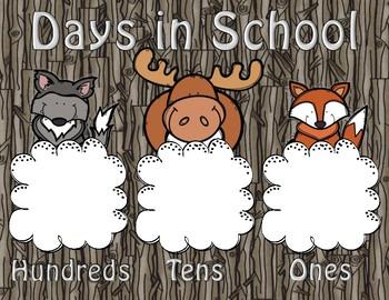 Woodland Adventures Calendar Pieces,