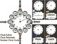 Woodland Adventures Clock Labels and Schedule Clocks