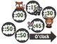 Woodland Adventures Clock Labels and Schedule Clocks