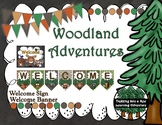 Woodland Adventures Welcome Banner