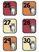 Woodland Animal Calendar Cards and Headings