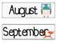 Woodland Animal Classroom Calendar