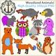 Woodland Animal Clipart {Anchor Art Man}