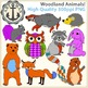 Woodland Animal Clipart {Anchor Art Man}