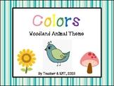 Woodland Animal Colors