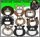 Woodland Animal Frames Clip Art Bundle {Educlips Clipart}