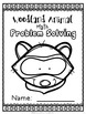 Woodland Animal Math Problem Solving Sheets - Word Problems
