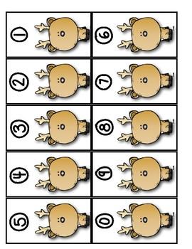 Woodland Animal ~~~ Place Value Game