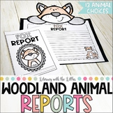Woodland Animal Reports {with Bulletin Board Kit}
