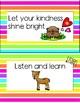 Woodland Animal Rules