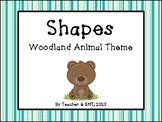 Woodland Animal Shape Posters