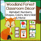 Woodland Animals Classroom Decor Posters