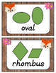 Woodland Animal Themed Classroom Poster Decor Bundle with Dnealian Font