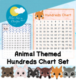 Woodland Animal Themed Hundreds Chart Poster Set