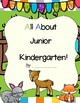 Woodland Animal Themed Kindergarten, Pre-K, Junior K Portfolio