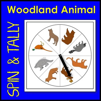 Woodland Animal Spin and Tally Math Center