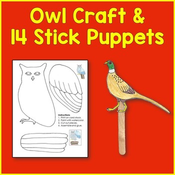 Woodland Animal Art and Craft Pack