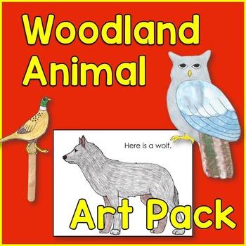 Woodland Animal Art and Craft Pack