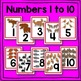 Woodland Animal Number Card Math Center