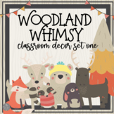 Woodland Animals: A Walk in the Woods Classroom Decor