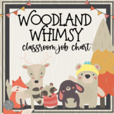 Woodland Animals: A Walk in the Woods Themed Job Chart