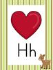 Woodland Animals Theme Alphabet Posters