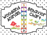 Woodland Animals Behavior Clip Chart and Monthly Calendar
