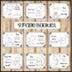 Forest Animals Emergent Reader and Posters for PreK and Kindergarten