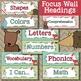 Woodland Animals Calendar Editable
