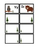 Woodland Animals: Calendar Headings and Word Wall Letter Cards