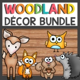 Woodland Animals Classroom Decor Bundle