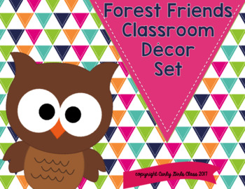 Woodland Animals Classroom Decor Set