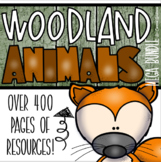 Woodland Animals Classroom Decorations and Management Mega Bundle