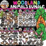 Woodland Animals Clipart Bundle {Woodland Animals Clipart}