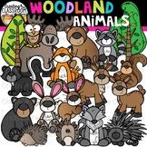 Woodland Animals Clipart  {Woodland Animal Clipart}