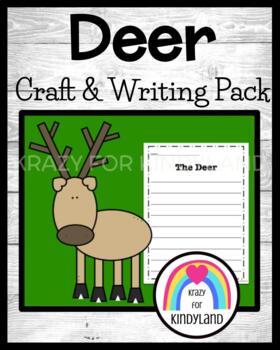 Woodland Animals: Deer Craft and Writing