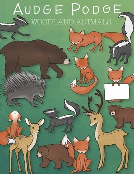 Woodland Animals Graphic Pack