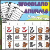 Woodland Animals Grid Reference Game